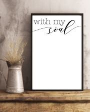 with my soul 24x36 Poster lifestyle-poster-3