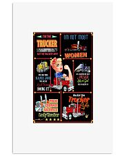 I'm The trucker 24x36 Poster front