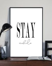 Stay awhile 24x36 Poster lifestyle-poster-2