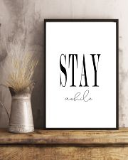 Stay awhile 24x36 Poster lifestyle-poster-3