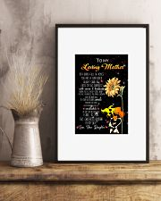 To my loving mother 24x36 Poster lifestyle-poster-3