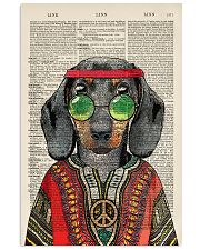 Dachshund 24x36 Poster front