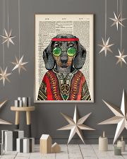Dachshund 24x36 Poster lifestyle-holiday-poster-1