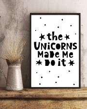 The Unicorns Made Me Do It 24x36 Poster lifestyle-poster-3