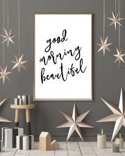 Good morning beautiful 24x36 Poster lifestyle-holiday-poster-1