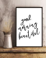 Good morning beautiful 24x36 Poster lifestyle-poster-3
