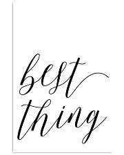 Best thing 24x36 Poster front