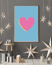 Heart pink 24x36 Poster lifestyle-holiday-poster-1