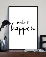 Make it happen 24x36 Poster lifestyle-poster-2
