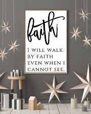 Faith i will walk by faith 24x36 Poster lifestyle-holiday-poster-1