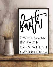 Faith i will walk by faith 24x36 Poster lifestyle-poster-3
