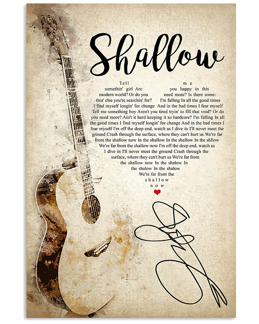 Shallow 24x36 Poster