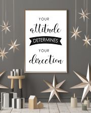 your attitude determines your direction 11x17 Poster lifestyle-holiday-poster-1