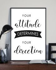 your attitude determines your direction 16x24 Poster lifestyle-poster-2