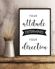 your attitude determines your direction 16x24 Poster lifestyle-poster-3