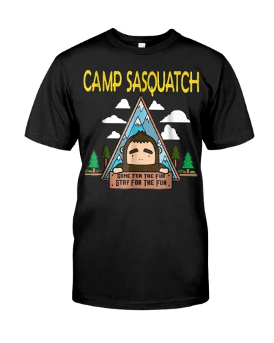 Camp Sasquatch Bigfoot Funny