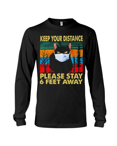Keep your distance please stay 6 feet away