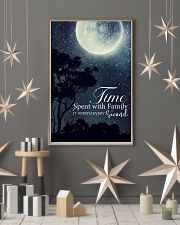 Time spent with family it worth every second 24x36 Poster lifestyle-holiday-poster-1