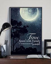Time spent with family it worth every second 24x36 Poster lifestyle-poster-2