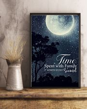 Time spent with family it worth every second 24x36 Poster lifestyle-poster-3