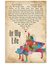 In My Life 24x36 Poster front