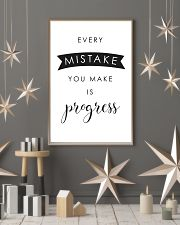 every mistake you make is progsess 24x36 Poster lifestyle-holiday-poster-1