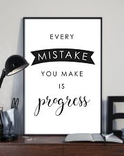 every mistake you make is progsess 24x36 Poster lifestyle-poster-2