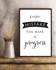 every mistake you make is progsess 24x36 Poster lifestyle-poster-3