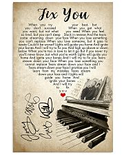 Fix You 24x36 Poster front