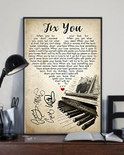 Fix You 24x36 Poster lifestyle-poster-2