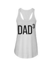 Dad 3 Ladies Flowy Tank thumbnail