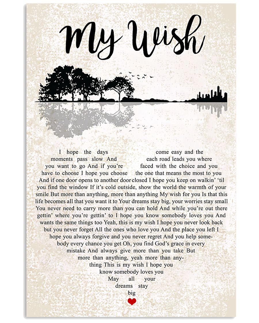My Wish 24x36 Poster