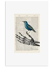 Skeleton and Blue Bird 24x36 Poster front