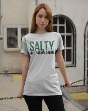 SALTY like normal salaine Classic T-Shirt apparel-classic-tshirt-lifestyle-19