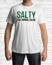 SALTY like normal salaine Classic T-Shirt lifestyle-mens-crewneck-front-1