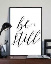 Be still 24x36 Poster lifestyle-poster-2