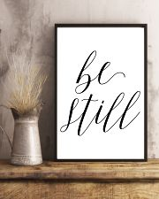 Be still 24x36 Poster lifestyle-poster-3