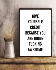 Give Yourself Credit Beacause You Are Doing  24x36 Poster lifestyle-poster-3