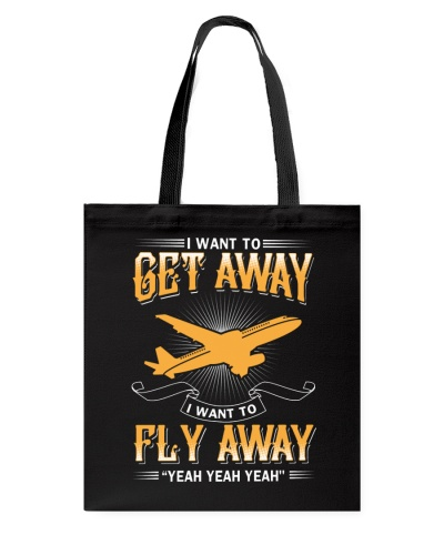 I want to get away i want to fly away