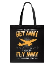 I want to get away i want to fly away  Tote Bag thumbnail