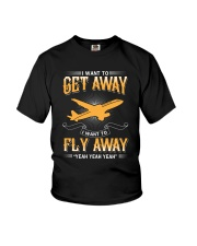 I want to get away i want to fly away  Youth T-Shirt thumbnail