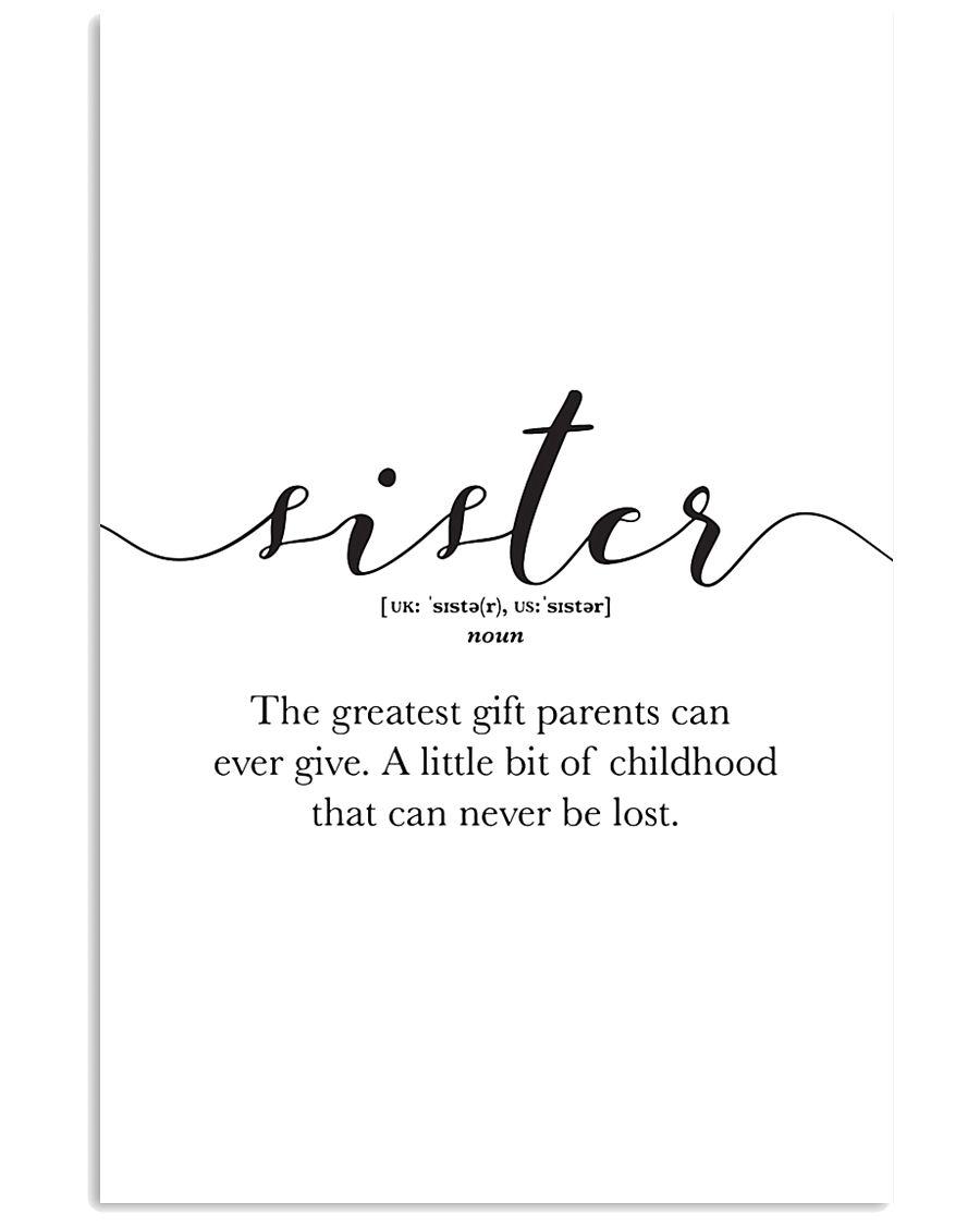 Family Decor 24x36 Poster
