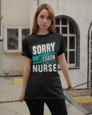 sorry nurse Classic T-Shirt apparel-classic-tshirt-lifestyle-19