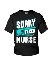sorry nurse Youth T-Shirt tile