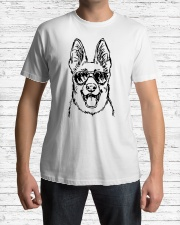 German Shepherd Classic T-Shirt lifestyle-mens-crewneck-front-1