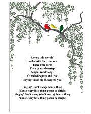 Three Little Birds 24x36 Poster front