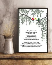 Three Little Birds 24x36 Poster lifestyle-poster-3
