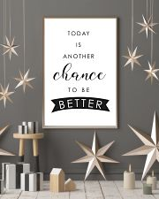 Today is another chance to be better 11x17 Poster lifestyle-holiday-poster-1