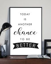 Today is another chance to be better 24x36 Poster lifestyle-poster-2