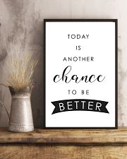 Today is another chance to be better 24x36 Poster lifestyle-poster-3